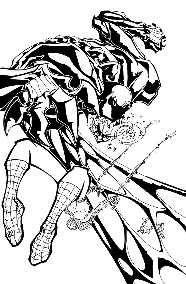 Spider Man Vs Venom By Darksavior On Deviantart