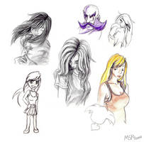 Sketch Dump 001 by MSPToons