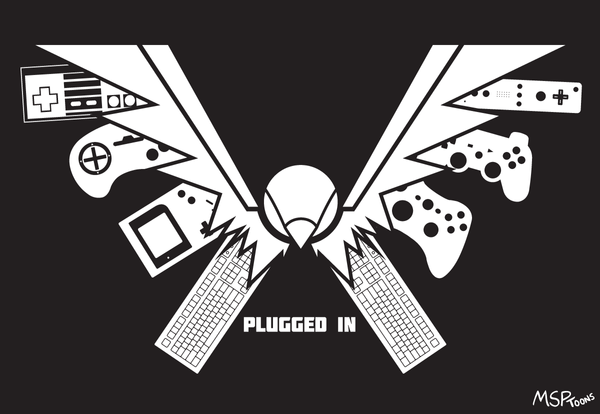 Plugged In Logo by MSPToons