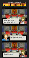 [2/5] What if Ryan and Joseph were in Fire Emblem by MSPToons