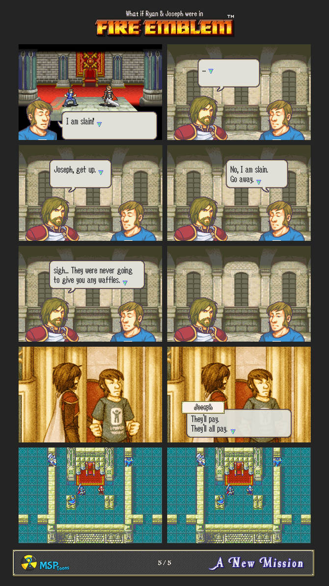 [5/5] What if Ryan and Joseph were in Fire Emblem by MSPToons