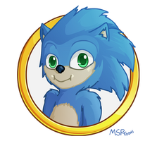 Movie Sonic is Cute Sonic