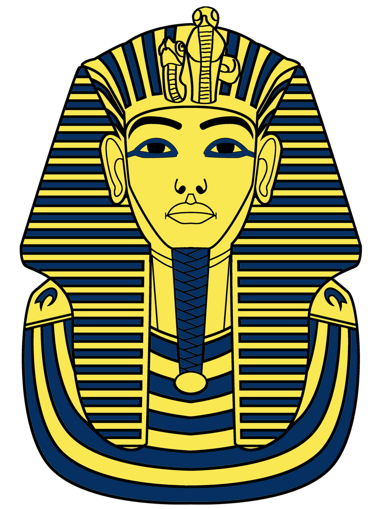 1000 images about tutankhamun reference on pinterest for King tut mask template