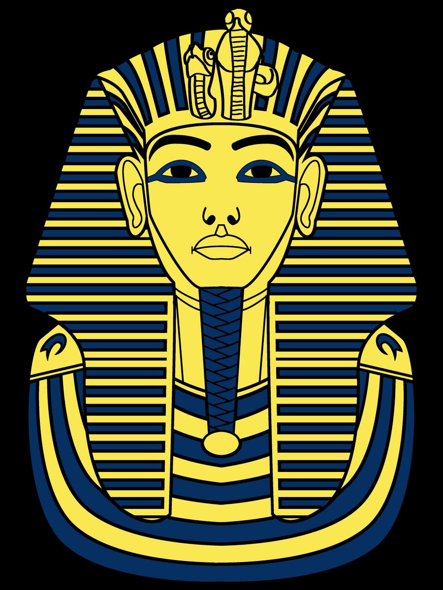 Pharaoh Sarcophagus Drawing