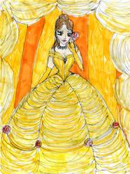 Disney Princess: Belle by DollyPrincess