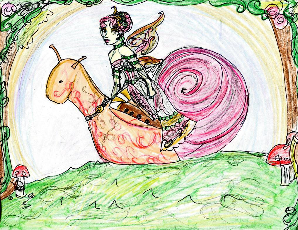 20: Snail by DollyPrincess