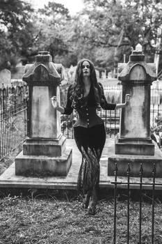 Morticia Addams Cemetery III