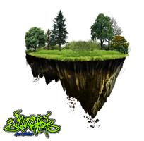 DonkeySneakers Floating island png by DonkeySneakers