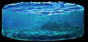 Round ocean png