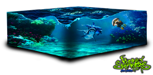 Cube Ocean png