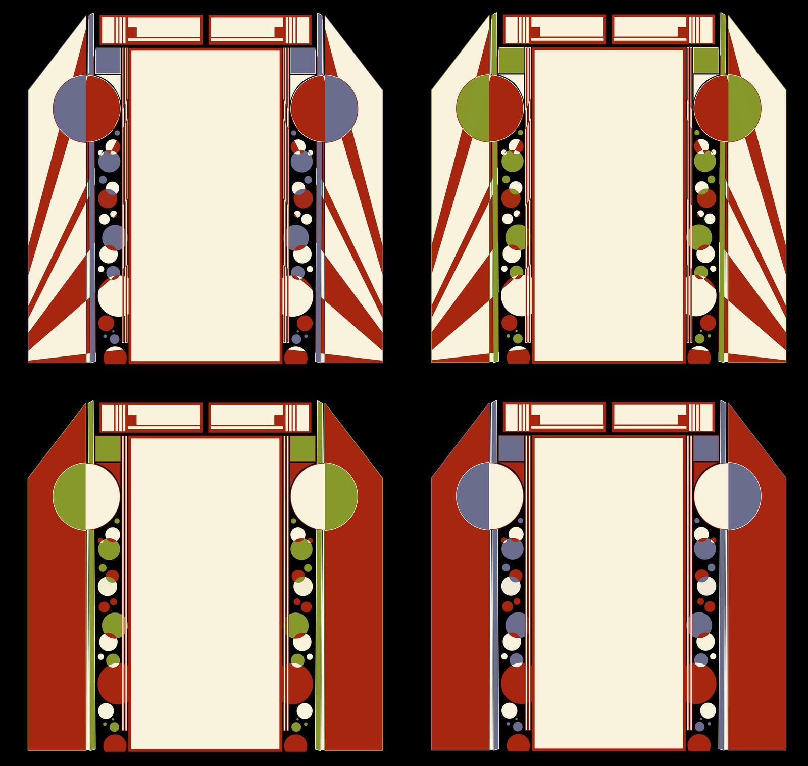 Designs Interfaces Other 2009 2015 Leminnes Art Deco Design For A Door