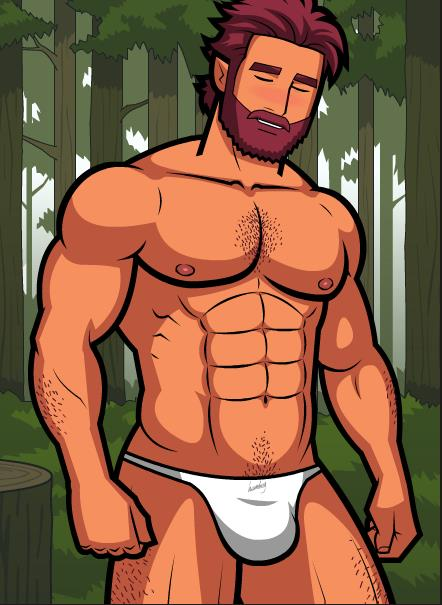 Monthly Manful - The Lumberjack by HellMiku on DeviantArt
