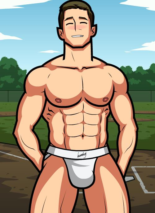 Monthly Manful - The Baseball Player by HellMiku on DeviantArt