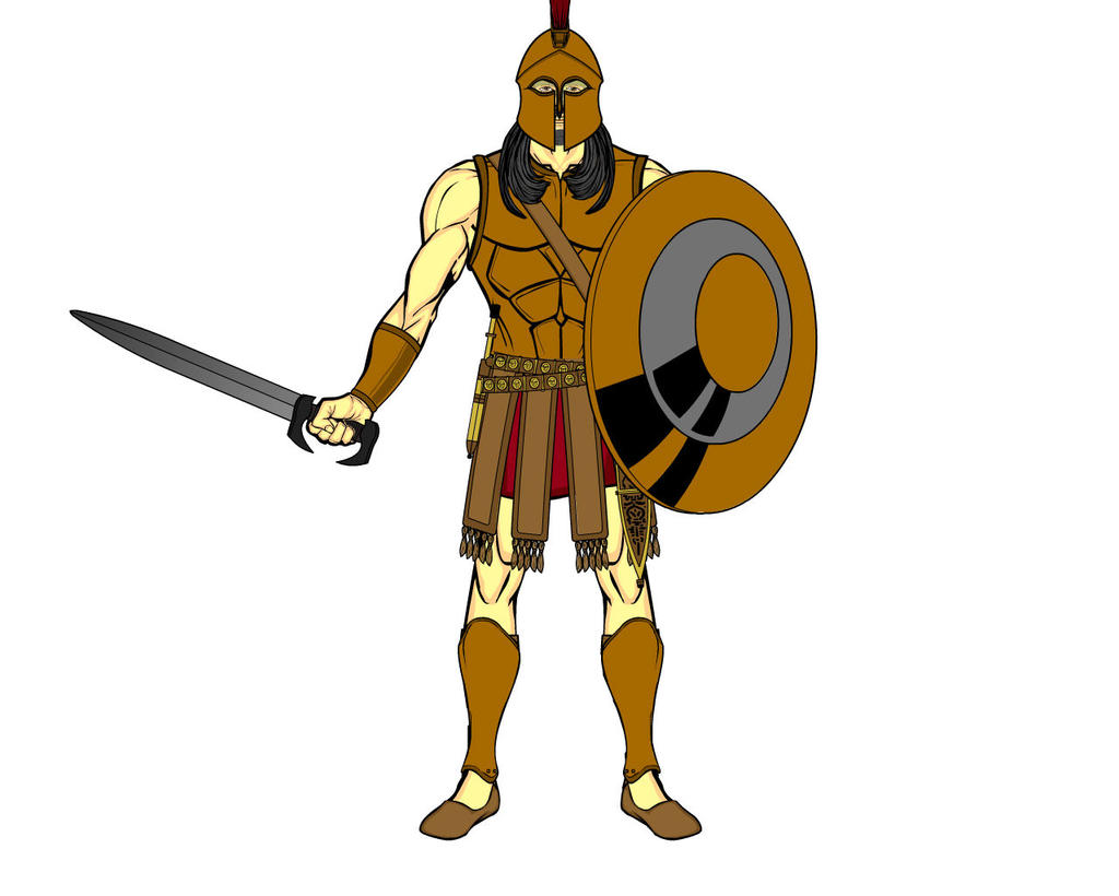 Greek God Ares Drawing Greek Gods - Ares by d...
