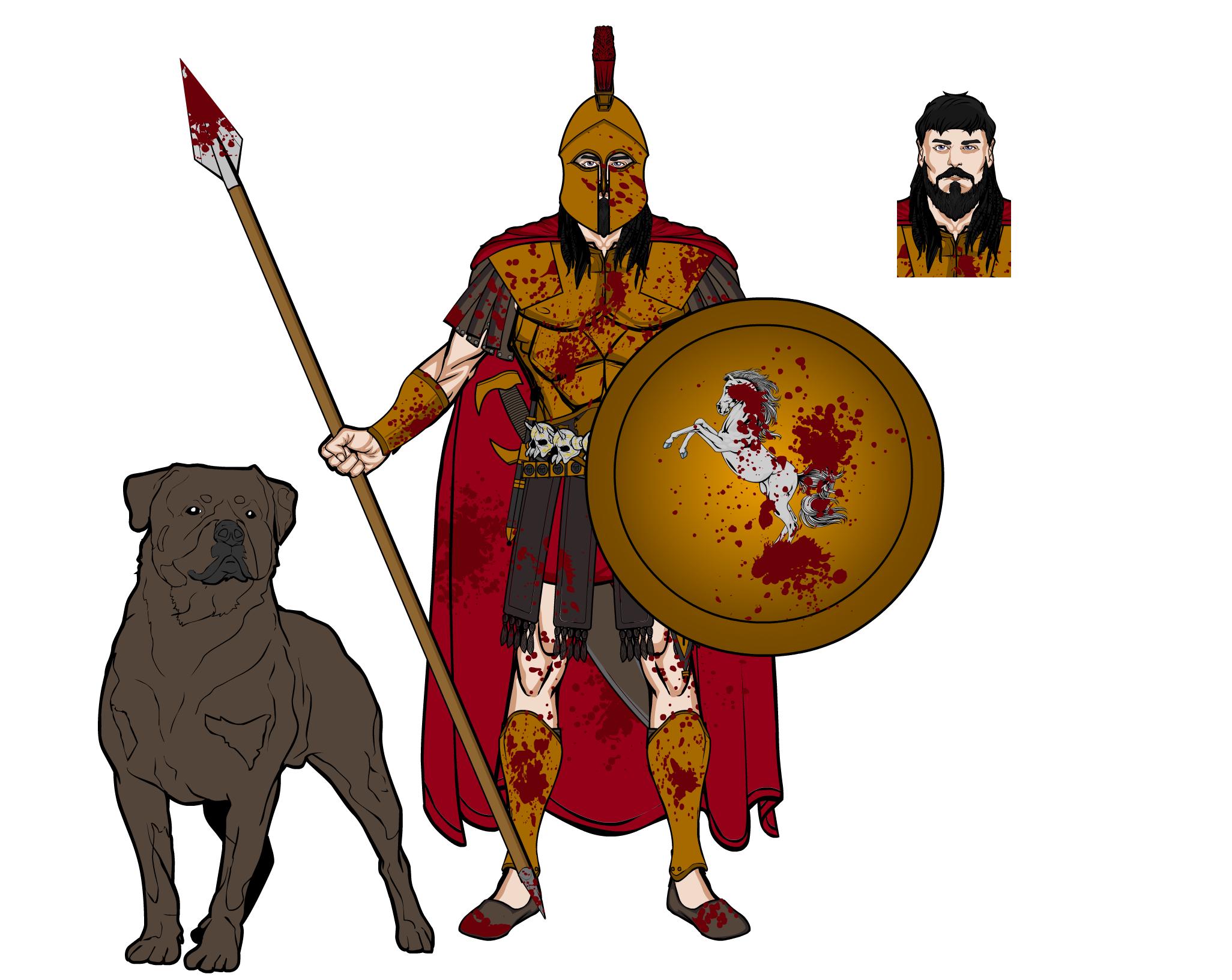 Greek Gods - Ares (update) by dahube84 on DeviantArt