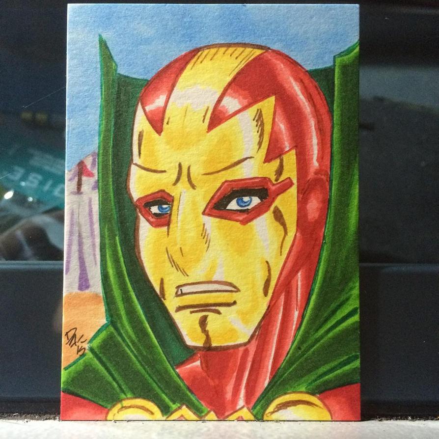 Mr Miracle sketchcard. by davidarroyo