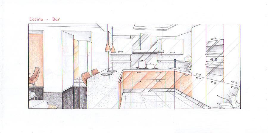 DH - Kitchen View by nikneuk