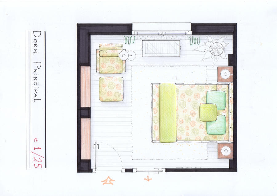 Arantxa 39 s bedroom plan by nikneuk on deviantart Bedroom furniture layout plan