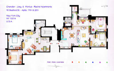 FRIENDS Apartments Floorplan (Old version)