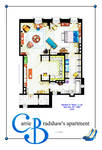 Carrie Bradshaw Apartment (TV Version) POSTER