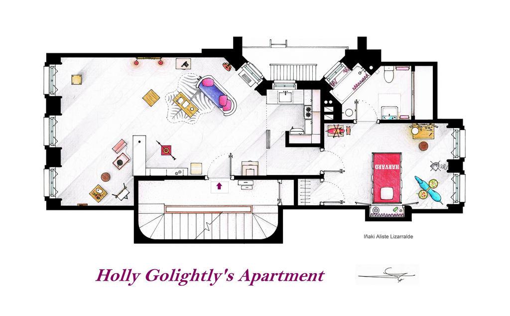 Breakfast At Tiffany S Apartment Floorplan By Nikneuk On