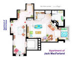 Jack MacFarland's apartment from 'Will and Grace'
