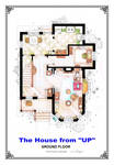 The House from UP - Ground Floor Floorplan