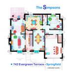 House of Simpson family - Ground Floor