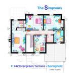 House of Simpson family - Upper Floor