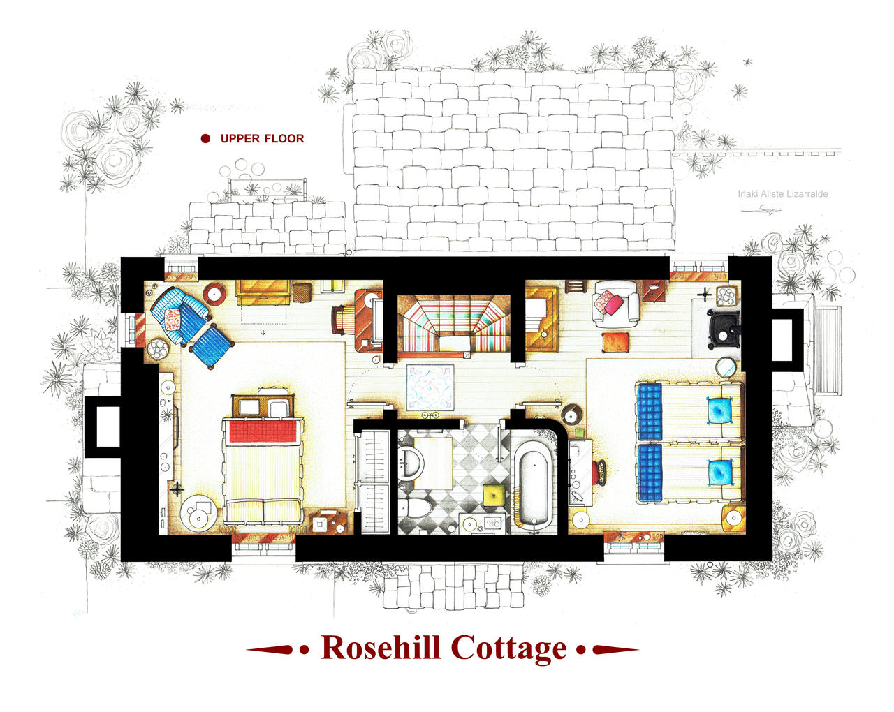 Rosehill Cottage from THE HOLIDAY