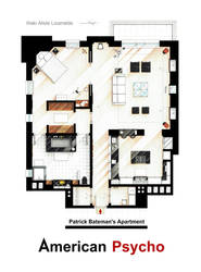 Patrick Bateman's apartment from AMERICAN PSYCHO