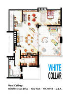 Neal Caffrey's apartment from WHITE COLLAR by nikneuk