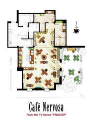 Floorplan of CAFE NERVOSA from FRASIER