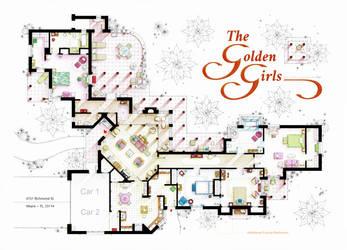 Floorplan of THE GOLDEN GIRLS- New version