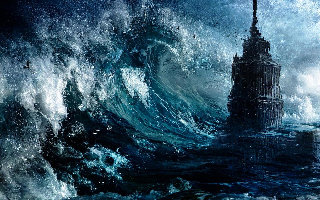 Huge wave by ZloyKritik