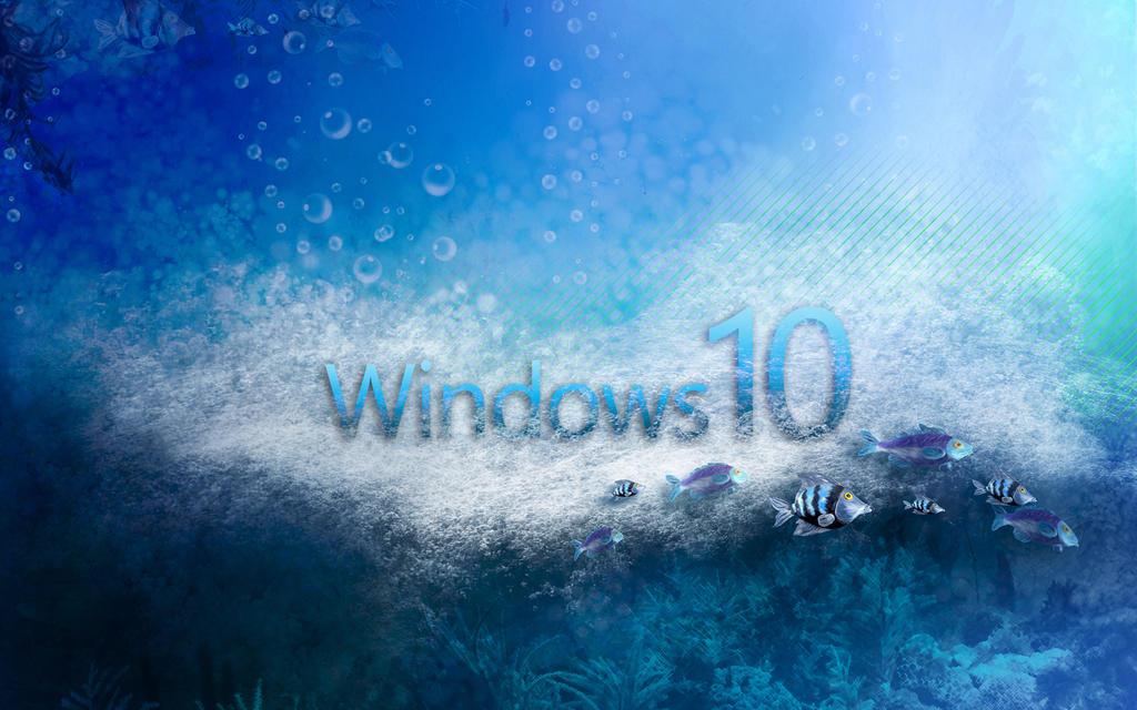 Windows 10 Aqua by ZloyKritik