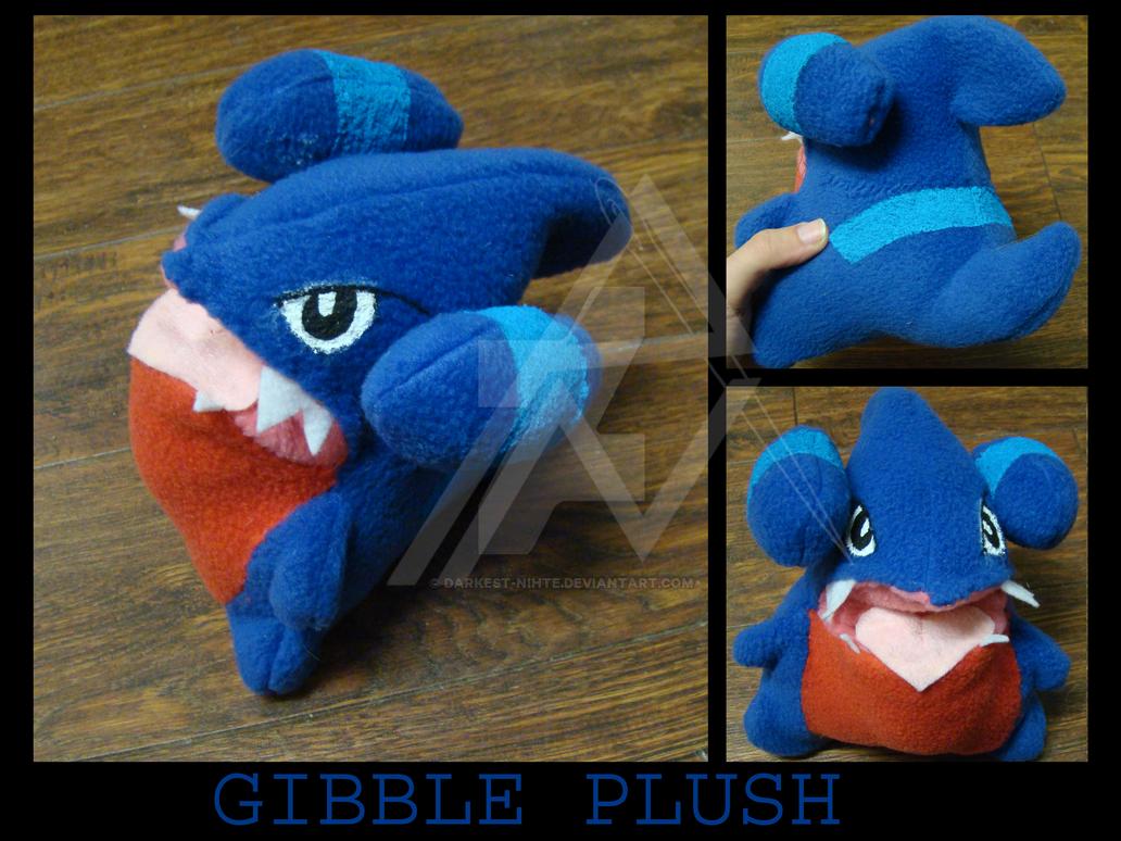 Gible Toy: Gible Plush By Darkest-Nihte On DeviantArt