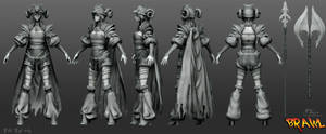 Polycount's Brawl - Hilde High Poly