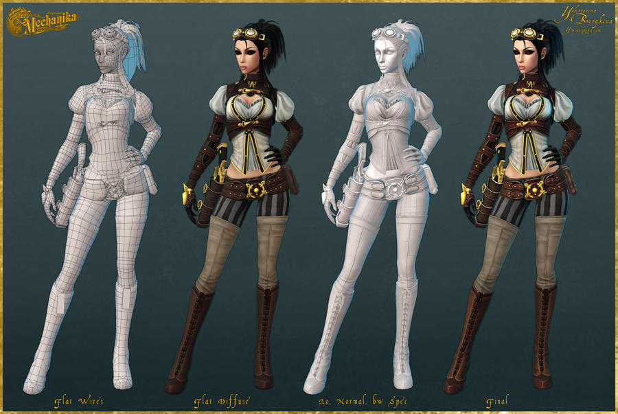 Lady Mechanika: Construction by YBourykina