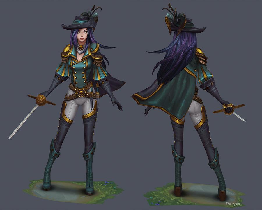 Musketeer by YBourykina