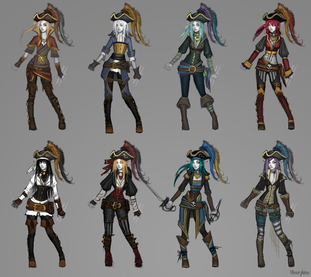 Undead Pirate Elf Thumbs by YBourykina