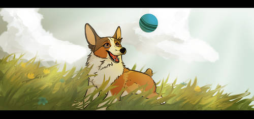 Play ball by Nutty-Squirrel