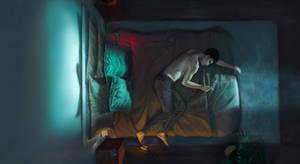 Fear of Falling Asleep Colour study
