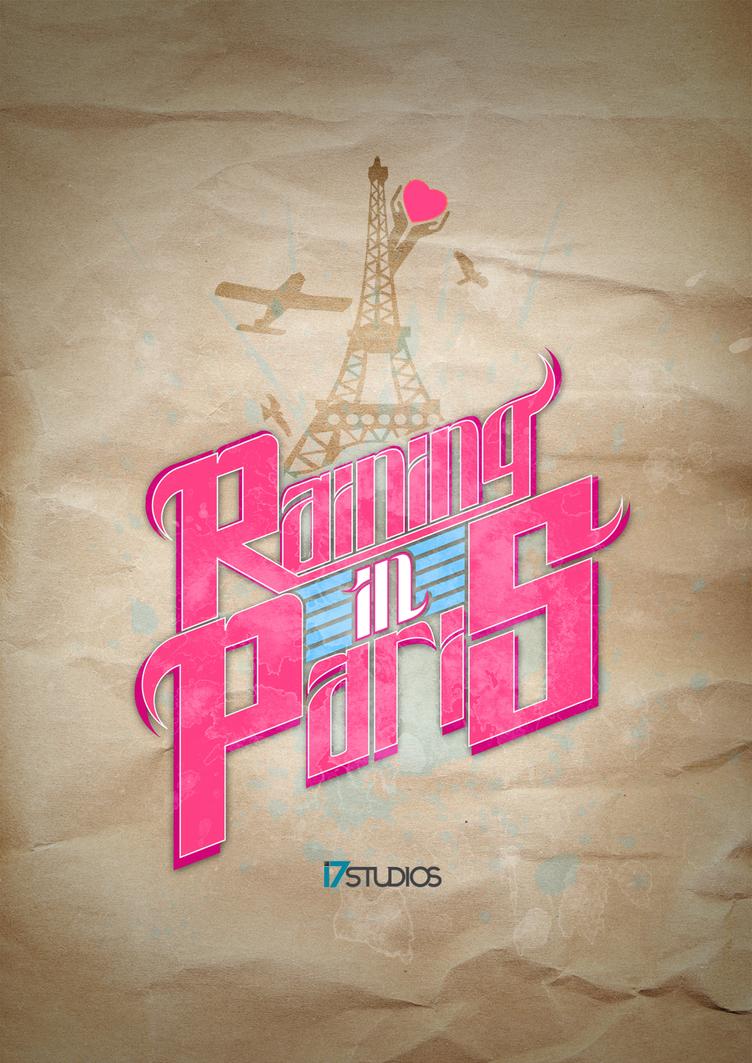 Rain in Paris - Faded memory by i7studios