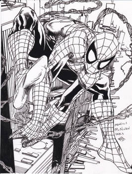 Spider-man McNiven pencils Ray inks