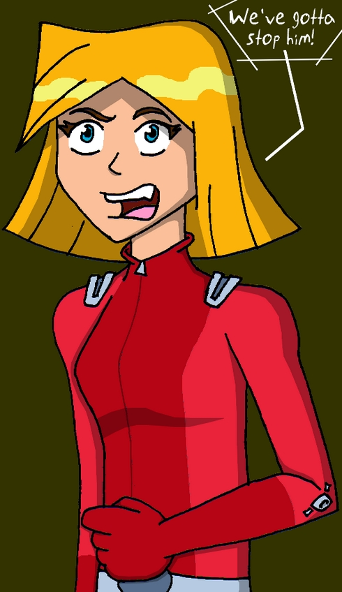 Clover totally spies by numbuh00 on deviantart - Clover totally spies ...