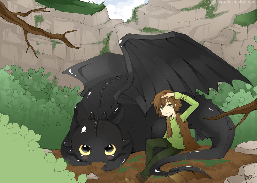 how to train your dragon fanfiction hiccup x toothless