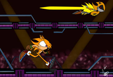 Radical Vs Metal Radical by Jenodragus