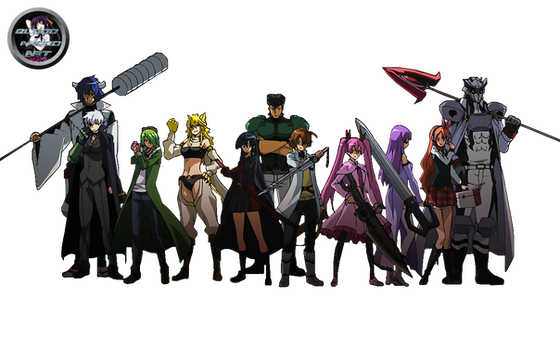 Akame Ga Kill Nightraid Render