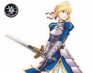 Fate Stay/Night Saber Render